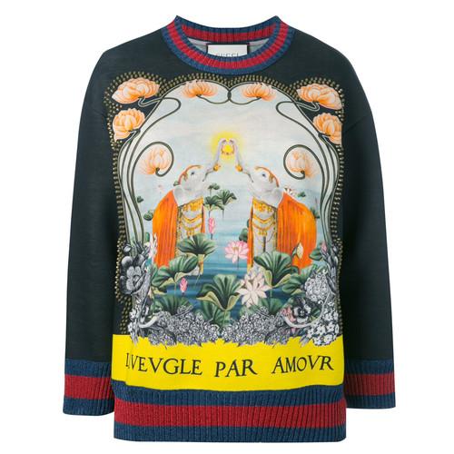 GUCCI L'Aveugle Par Amour Sweatshirt