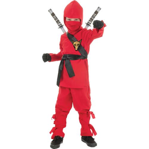 Boys Ninja Red Halloween Costume
