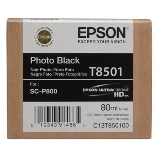 Epson T850 Ultrachrome HD Ink Bundle, for SureColor P800