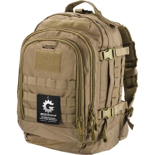 Barska Loaded Gear GX-500 Crossover Backpack (Flat Dark Earth)