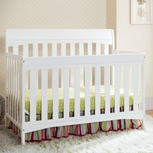 Delta Remi 4-in-1 Convertible Crib in White