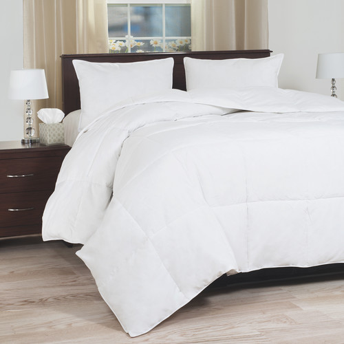 Lavish Home Down Blend Overfilled Bedding Comforter - Full/Queen