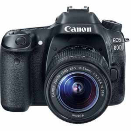 Canon EOS 80D EF-S 18-55mm f/3.5-5.6 IS STM Lens Kit