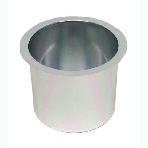 Trademark Global Jumbo Aluminum SILVER Poker Table Cup Holder