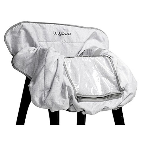 LulyBoo Shopping Cart and High Chair Cover in Grey