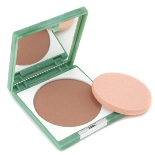 Clinique Women's Stay-Matte Sheer Pressed Powder, # 10 Stay Amber, Dry Combination To Oily, 0.27 Ounce