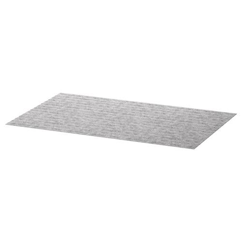 PASSARP Drawer mat, gray