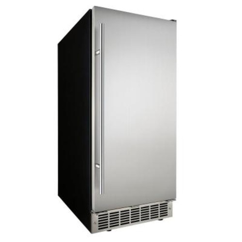 Danby 32 lb. Built-In Ice Maker in Stainless Steel