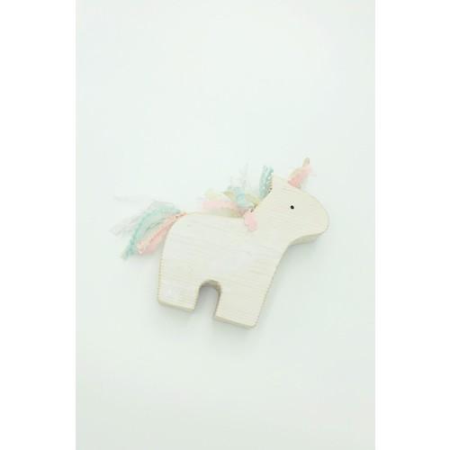 Unicorn Wood Toy