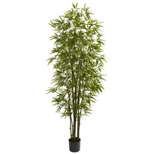 Nearly Natural 7 ft. Green Bamboo Tree