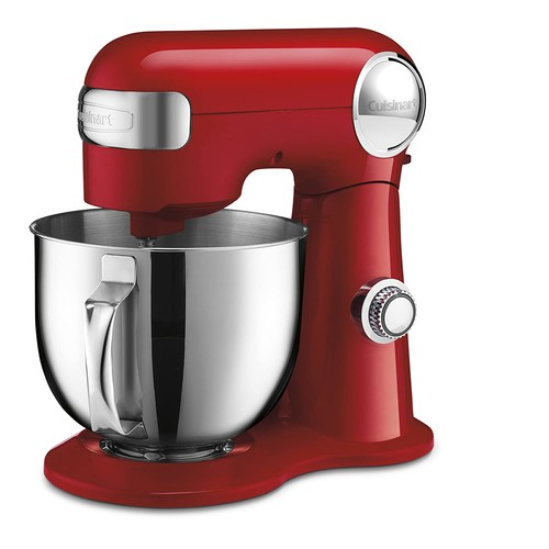 Cuisinart SM-50R Stand Mixer, Red [Red]