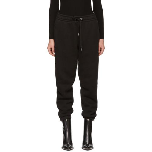 T BY ALEXANDER WANG Black Fleece Lounge Pants