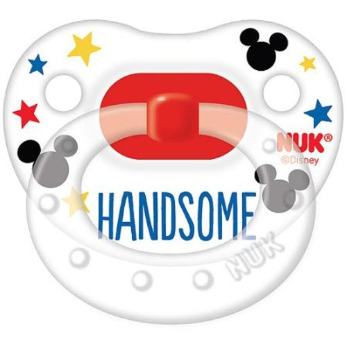 Disney's Mickey Mouse 0-6 Months 3-pk. Orthodontic Pacifiers by NUK