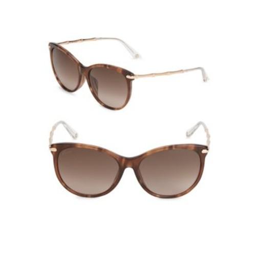 Gucci - 58MM Gradient Cat's Eye Sunglasses
