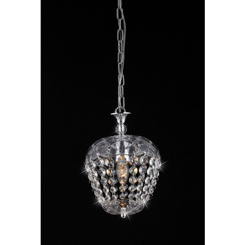Warehouse of Tiffany Adelaide Crystal-Chrome Chandelier