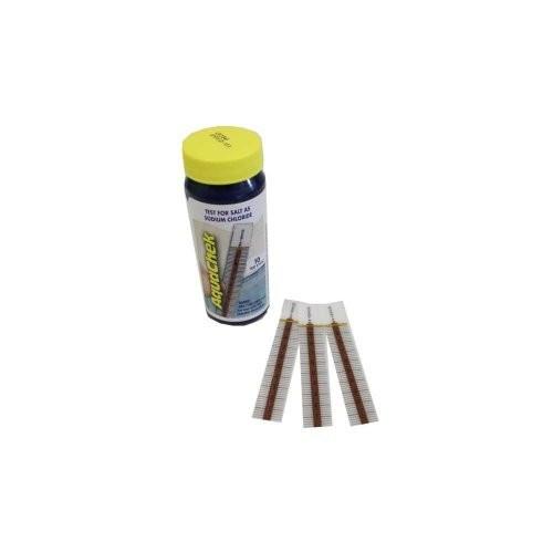 AquaChek 561140A Salt Water Swimming Pool Test Strips - White [1-Pack]