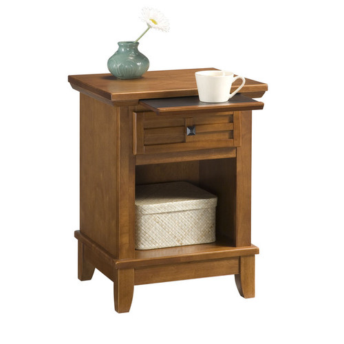 Arts and Crafts Cottage Oak Night Stand by Home Styles - Cottage oak