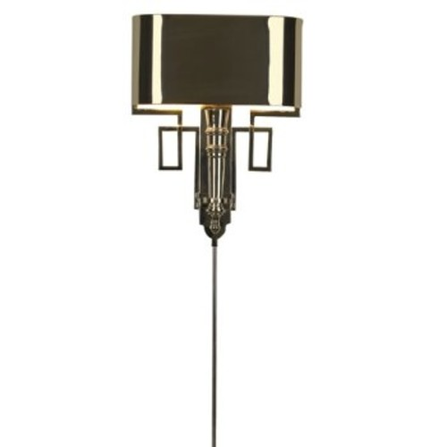 Torch Wall Sconce [Installation Type : Wall Cord; Finish : Polished Nickel]