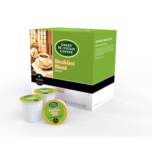 Keurig 109334 Green Mountain Breakfast Blend Decaf 18 Count K-Cups
