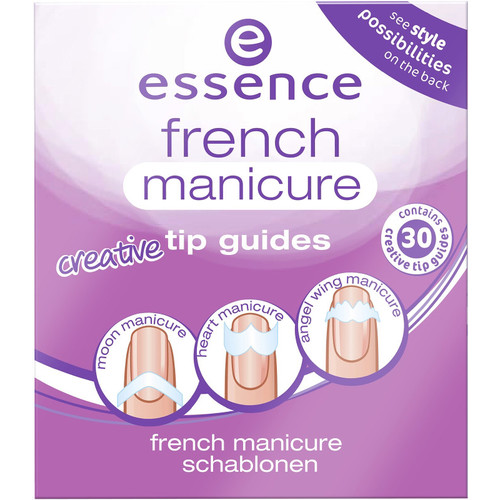 French Manicure Creative Tip Guides [From Heaven with Love 02]