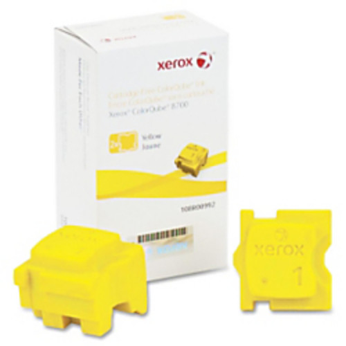 Xerox Solid Ink Stick - Solid Ink - Yellow - 2 / Box