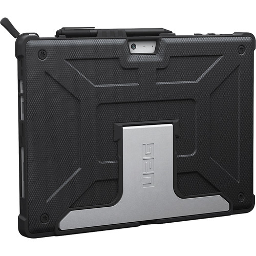 Urban Armor Gear - Case for Microsoft Surface Pro and Surface Pro 4 - Black