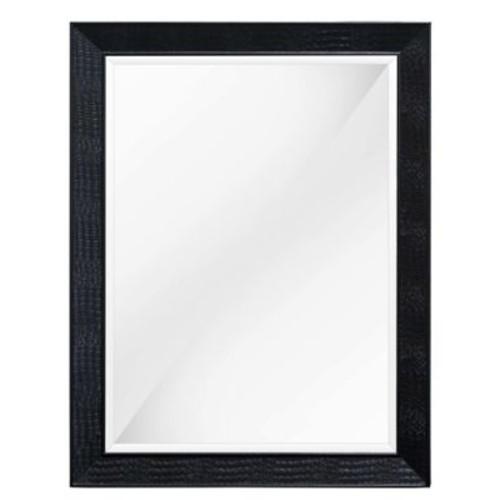 BestMasterFurniture Rectangular Dresser Mirror; Black