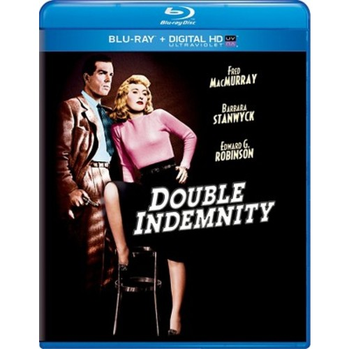 Double Indemnity [Includes Digital Copy] [UltraViolet] [Blu-ray] B&W DD2/DHMA/DTS