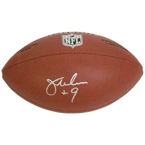 Jim McMahon Wilson NFL FullSize Football