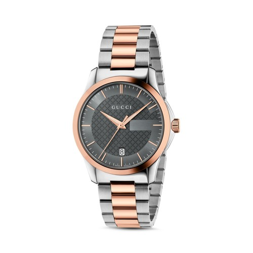 GUCCI G-Timeless Two Tone Watch, 38Mm