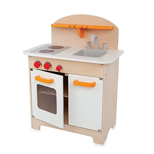 Hape Playfully Delicious Wooden Gourmet Kitchen Play Set