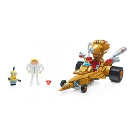 Despicable Me,Minions,Mega Construx,Mega Bloks Mega Construx Despicable Me 3 Dru's Transforming Car Building Set 286 Pieces