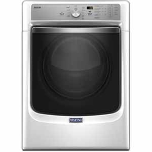 Maytag 7.4 cu.ft. Gas Dryer With Refresh Cycle With Steam and Powerdry System - White