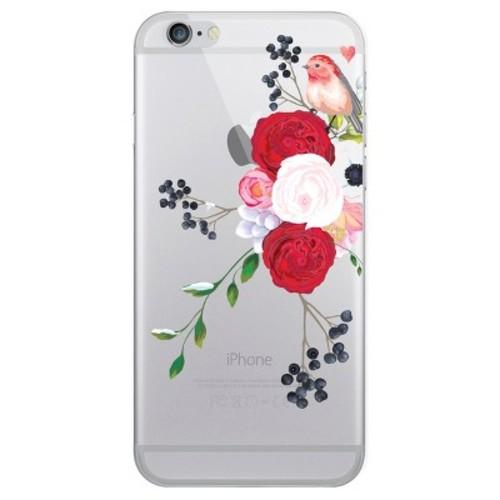 iPhone 6/6S/7/8 Case Hybrid Spring Bird Clear - OTM Essentials
