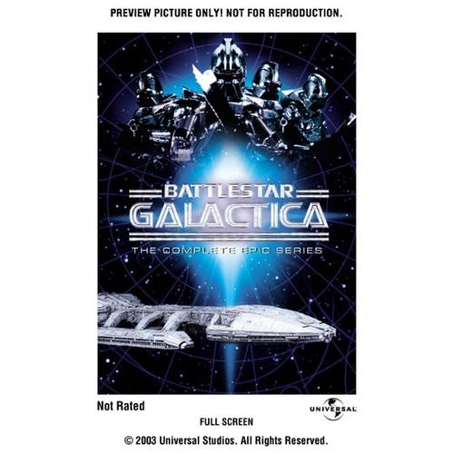 Battlestar Galactica: The Complete Epic Series (Full Frame)