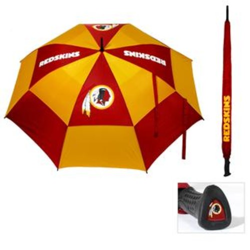 Team Golf Washington Redskins 62-inch Double Canopy Golf Umbrella