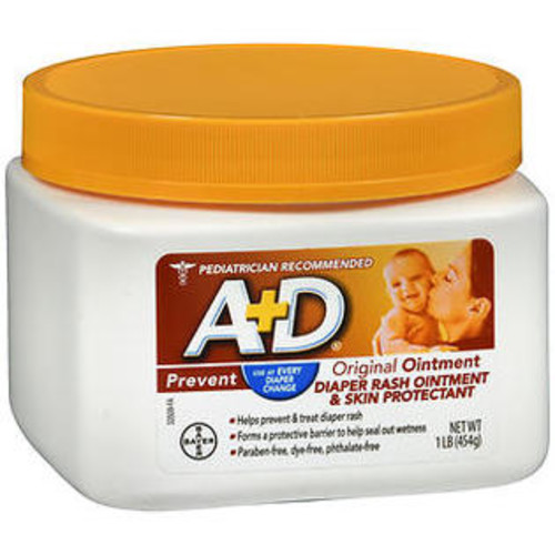 A&D A+D Diaper Rash Ointment u0026 Skin Protectant Original - 16 oz