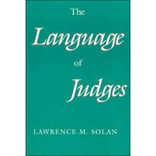 The Language of Judges / Edition 1