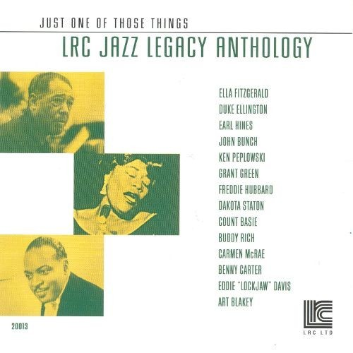 Just One Of Those Things: Jazz CD (2001)