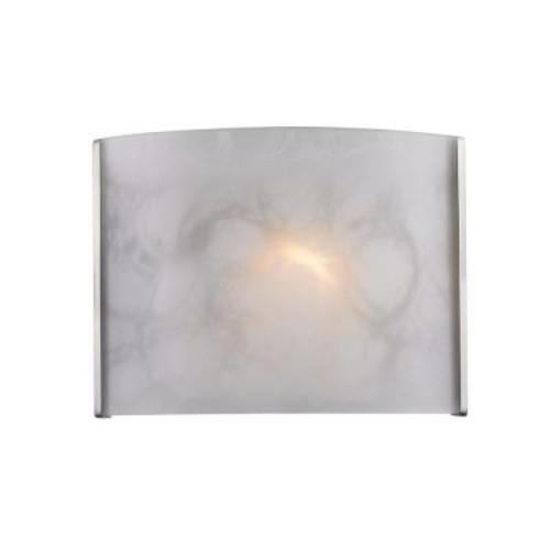 Filament Design Shadow 1-Light Brushed Nickel Sconce