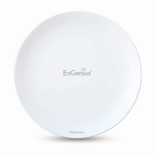 EnGenius EnStation5 Wireless Outdoor Access Point/Bridge (2 Pack) - 2.4GH-5GHz, 300Mbps, IEEE 802.11a/b/g/n, RJ-45 - N-ENSTATION5 KIT