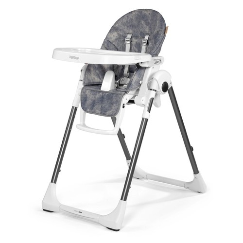 Peg Perego USA Prima Pappa Zero 3 High Chair, Baby Dot Beige [Baby Dot Beige]