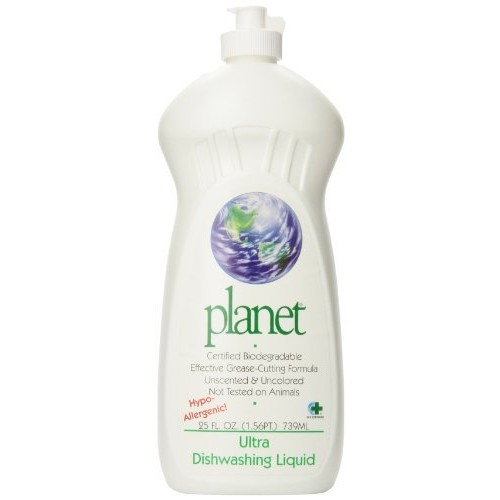 Planet Ultra Dishwashing Liquid, 25 Fluid Ounce Bottles (Pack of 12): Health & Personal Care