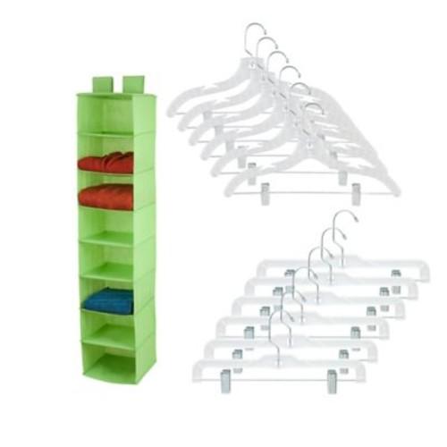 Honey-Can-Do 8-shelf Closet Organizer and Hanger Set