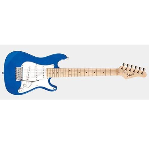 Austin AST 112 Mini Series 1/2 Size Electric Guitar, Blue AST112BL