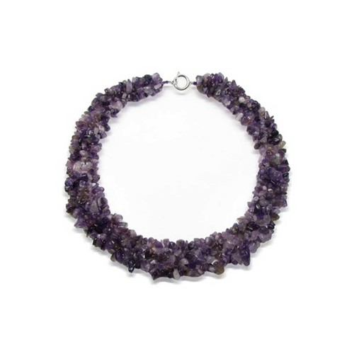 Bling Jewelry Bling Jewelry Multi Strand Simulated Gemstone Chips Necklace