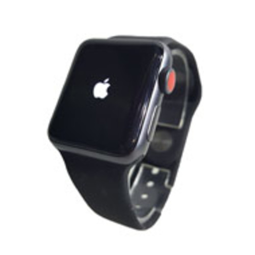 Apple Watch Series 3 38mm Aluminum Frame - GPS Only (Black with Black) [Pre-Owned]