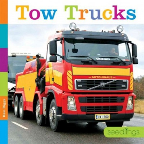 Tow Trucks (Library) (Kate Riggs)