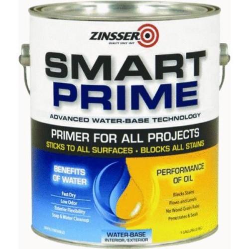 Rust-Oleum 249729 Smart Prime Primer, 1-Gallon, White [White, 1 Gallon]
