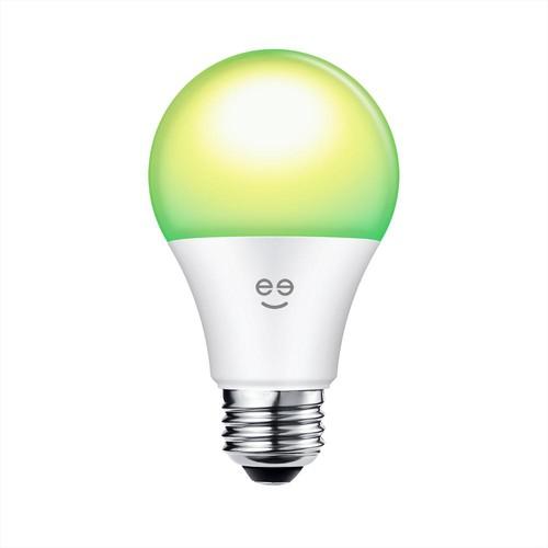 Geeni PRISMA 450 (45W Equivalent) Multi-Color A19 Smart LED Light Bulb